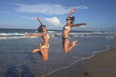 "Beach time (Joalhi ""Around the World"") Tags: beach florida daughter michelle niece pierce ft bianna"
