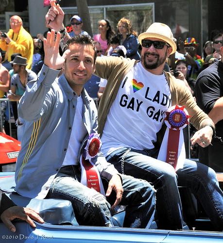 Backstreet Boys - A.J. McLean & Howie Dorough