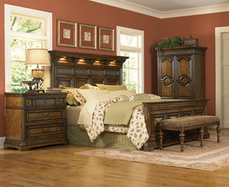 Cantabria Panel Bed
