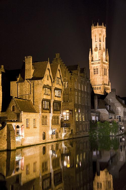 In Bruges, notturna