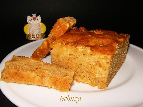 Cake de manzana-porción