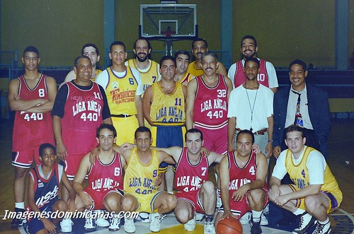 Foto histórica con Juan Luis Guerra y Alex Rodríguez por imagenesdominicanas.