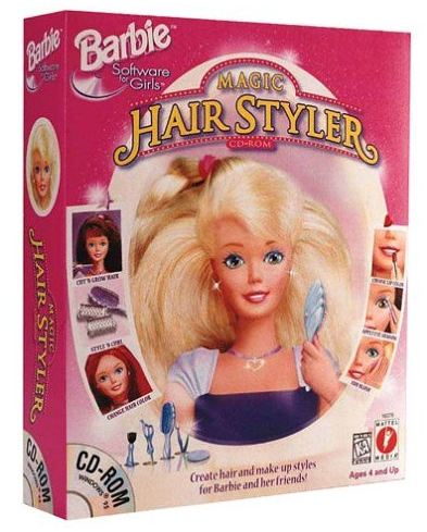 Cut Barbie's Hair!