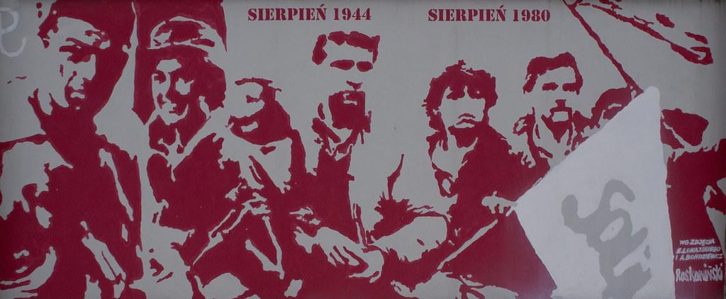 Patriotyczny mural - Powstanie, Solidarność