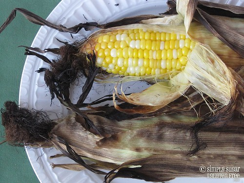 Grilled Summer Sweet Corn