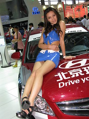 2010 Shenzhen International Auto Show (zikay's photography(no PS)) Tags: sexy girl model exhibition