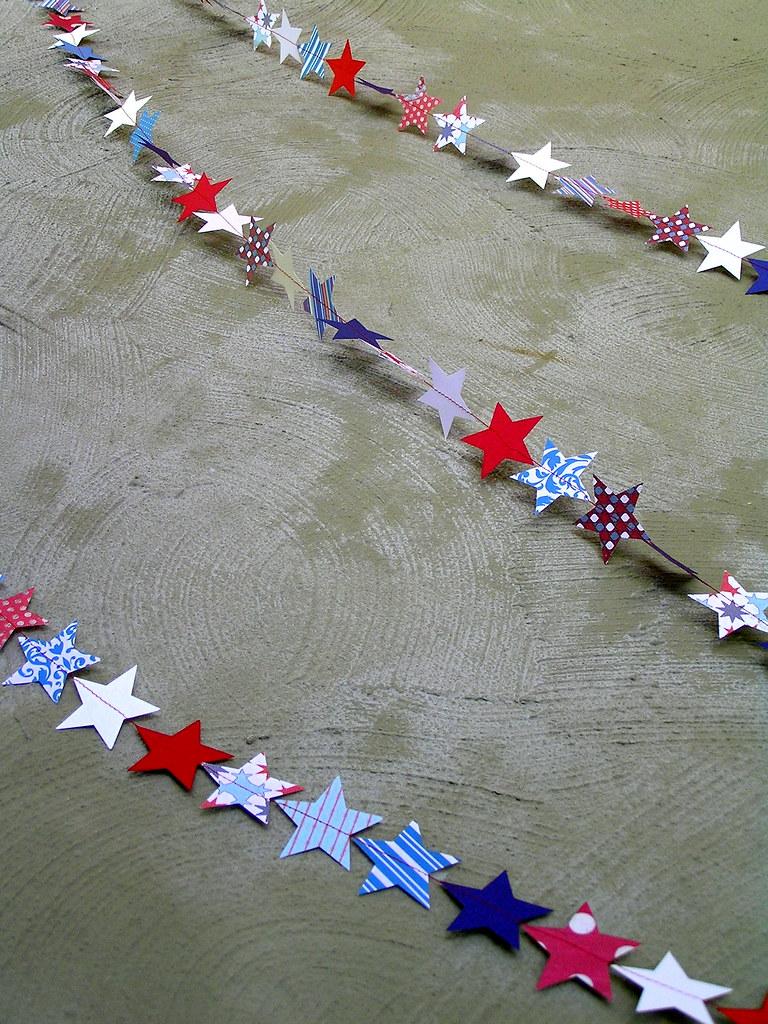 a starry garland
