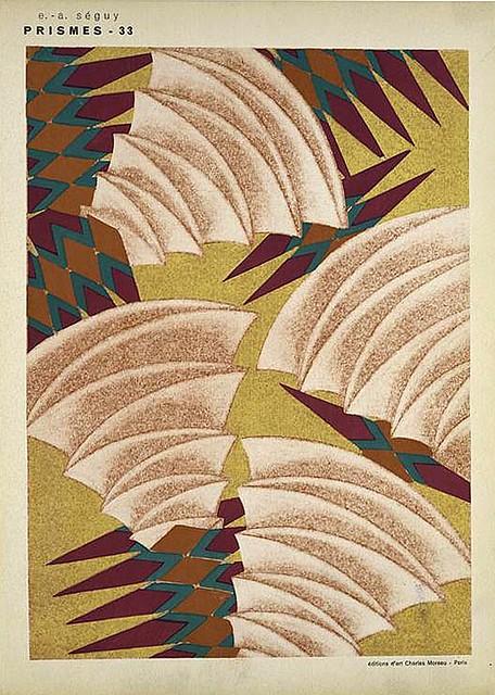 029-Prismes 40 planches de dessins et coloris nouveaux 1931- Eugene Alain Seguy