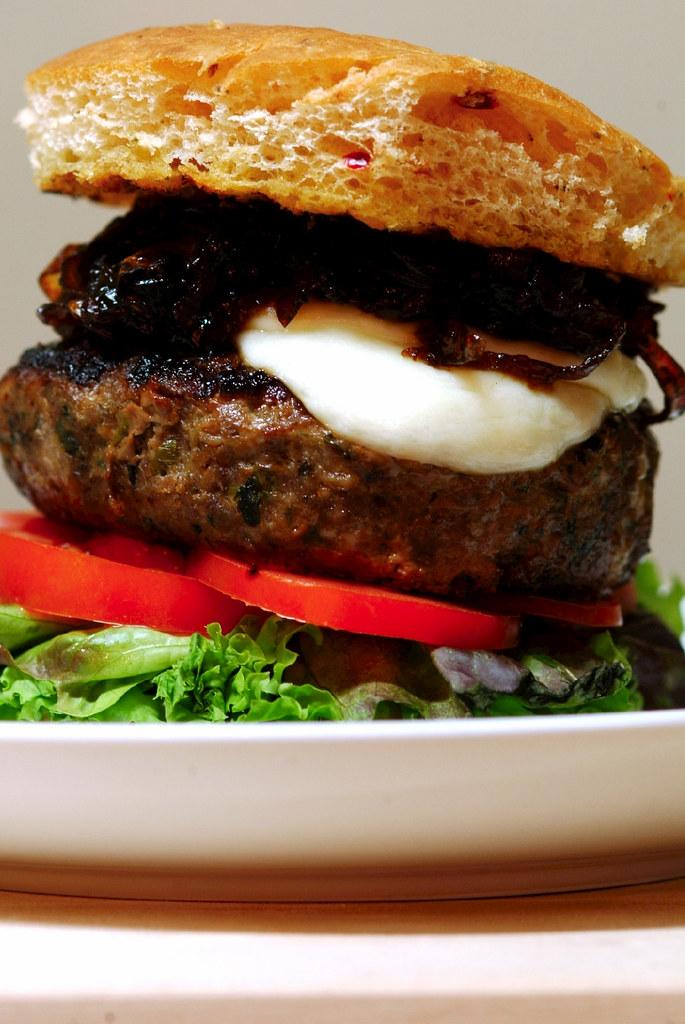Lamb Burger - Life is Great