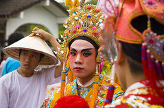 Chinese costumes at a Phuket festival