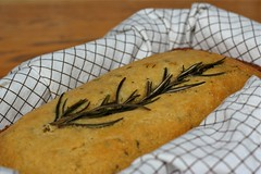 Sweet Rosemary Cornbread 2