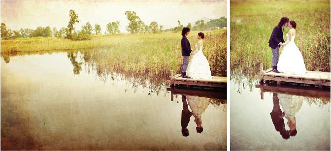Nam Sang Wai wedding phtoo