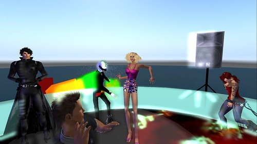 xavier, mr widget, raftwet at muzik haus