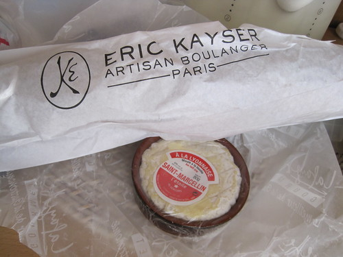 eric kayser baguette cereals and st marcellin