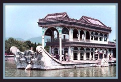 Marble Boat (Somewhere inTime) Tags: china boat marble 5photosaday seenonflickr neverfloated