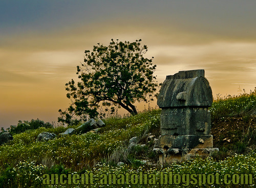 Sunset at Ancient Lycia by voyageAnatolia.blogspot.com