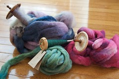 Tour de Fleece 2010 Spindle Projects