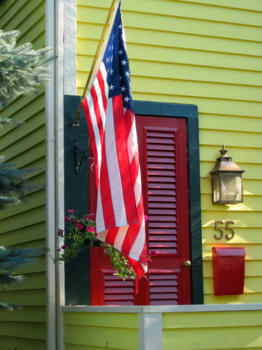 Our Town-Patriotic House 7