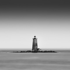 Whaleback Lighthouse (moe chen) Tags: ocean new lighthouse point nikon long exposure fort maine hampshire foster ledge moe portsmouth 70200 f28 chen kittery whaleback