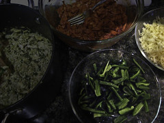 Tamal Fillings - Poblano and Cheese