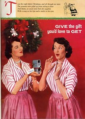 Give the gift you'd love to get - 1956 (Nesster) Tags: camera vintage magazine print photography photo ad advertisement advert 50s 1956
