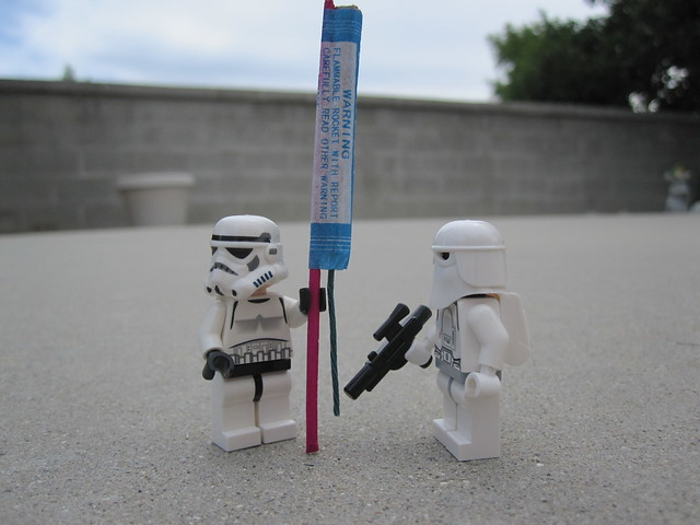 cooper snowtrooper fireworks