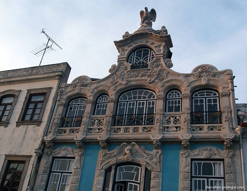 Building facade of Aveiro