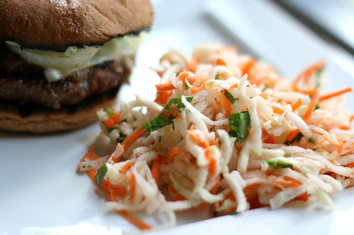 Sweet and Tart Slaw Dressing @ Sidewalk Shoes