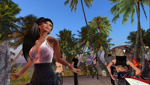 raftwet jewell at morex marx party at mack attack island
