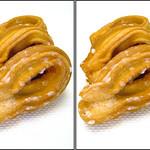 DSCF2149 チュロッキードーナツ doughnut (parallel 3D) thumbnail
