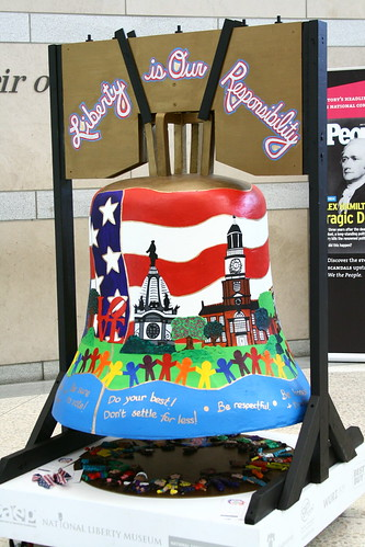 Colorful Liberty Bell