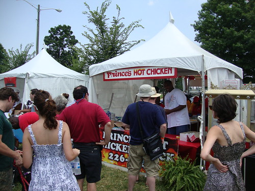 Hot Chicken Festival, Nashville TN