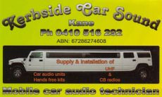 Kerbside Car Sound - Mobile car audio technician