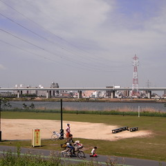 Over the Arakawa River 01