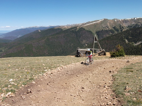 10 hr CTR training ride in Breckenridge