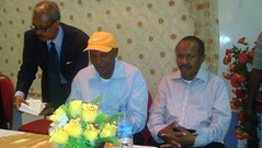 President Elect And Vice President Elect Of Somaliland (Yusuf Dahir's Somaliland Photos) Tags: community with president vice and diaspora elect somaliland the of