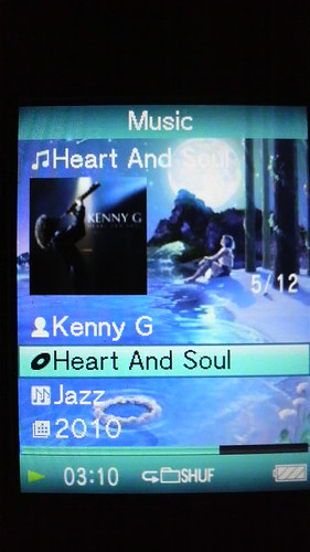 Kenny G 「Heart and Soul」 #nowplaying
