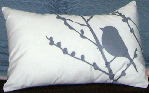 bird pillow by you.