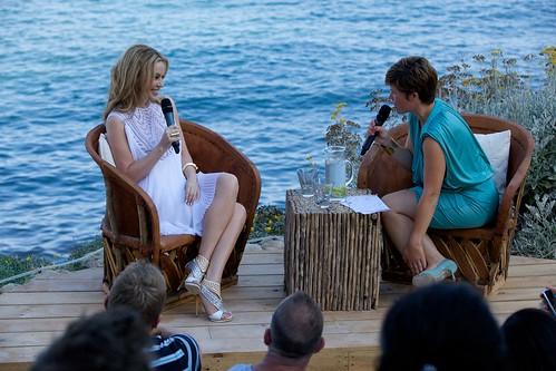 Kylie Minogue - Aphrodite album launch press conference at Amante