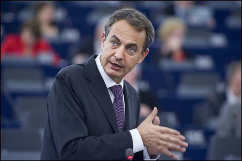 Zapatero en el Parlamento Europeo