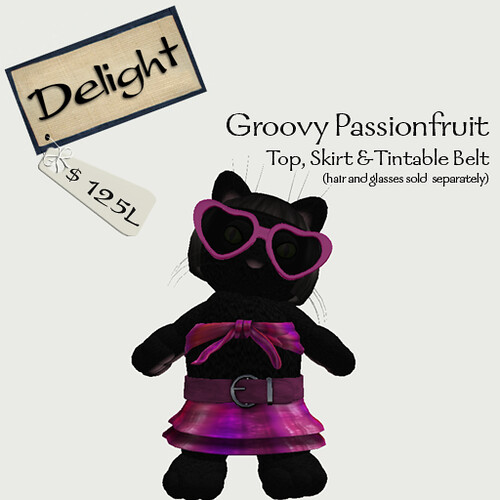 ~Delight~ Groovy Passionfruit