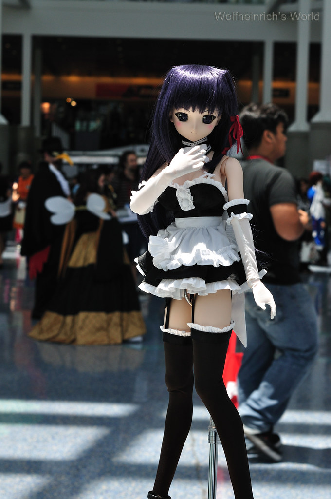 Volks Dollfie Dream ドルフィー DD娃娃 Kiriha Kuze 紅瀬桐葉 in Los Angeles Convention Center