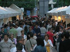 La Mostra va arrencar divendres a la tarda a la rambla Ramon Folch, davant de Correus. Foto: DO Empordà