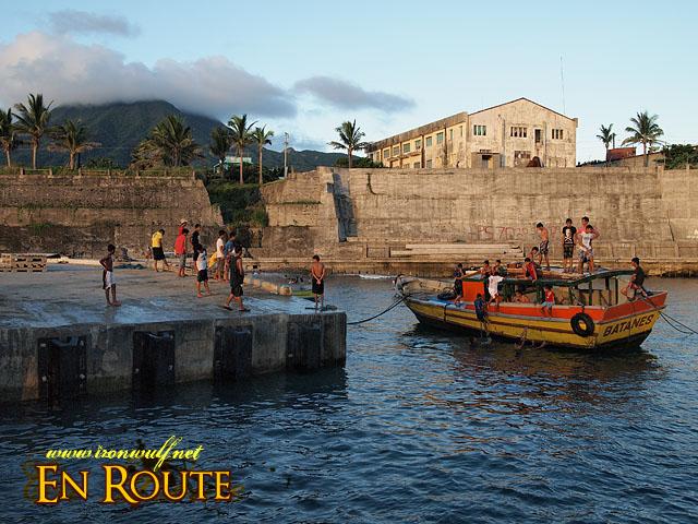 Ivatan Locals at Basco Port
