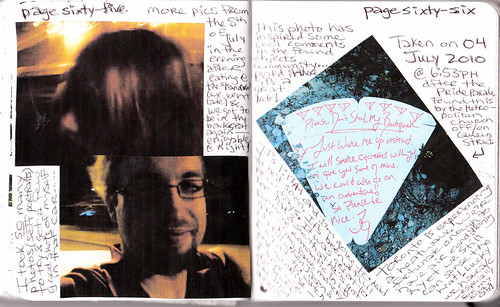 Journal #25 pages 65 & 66