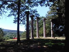 Storm King Art Center columns