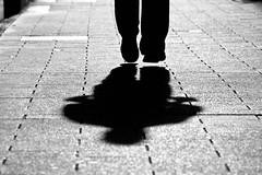 jump over it (mfellnerphoto) Tags: street shadow bw munich mnchen deutschland schatten strase blackwhitephotos