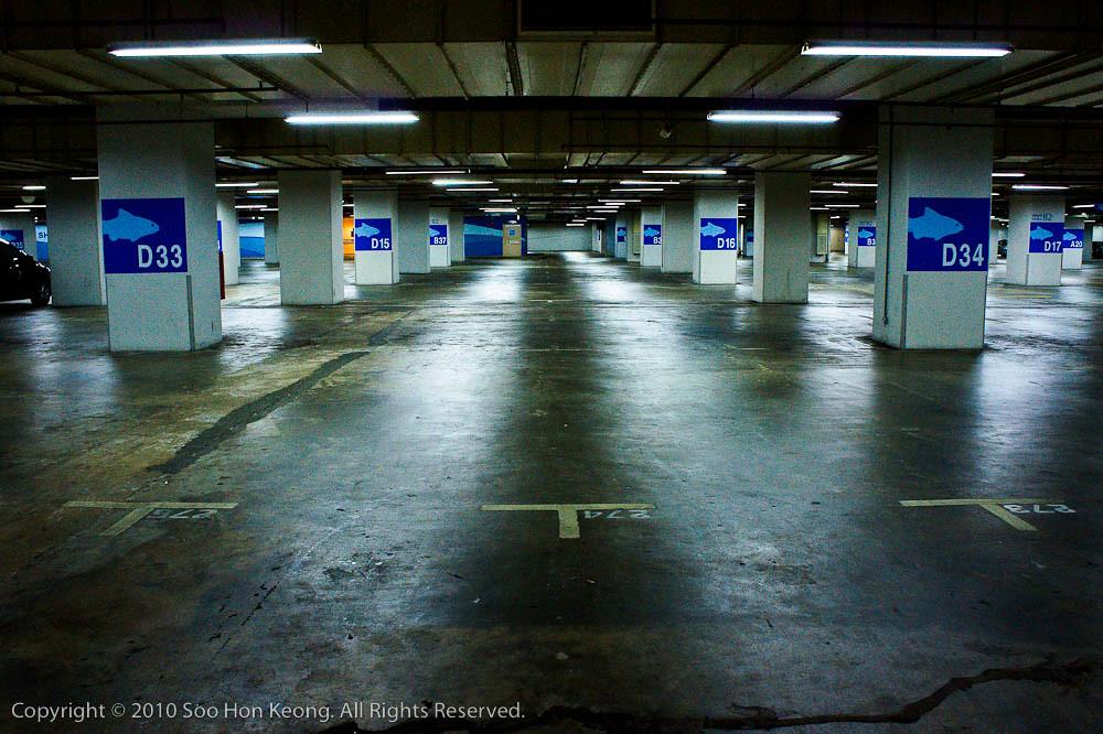 Parking @ KL, Malaysia