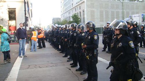 Police line