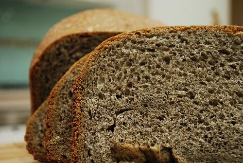 Sliced - Black Sesame Bread